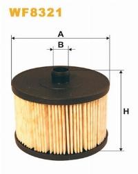 WIX Фільтр паливний WF 8321