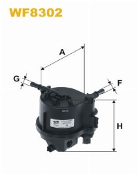 WIX Фільтр паливний WF 8302
