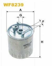 WIX Фільтр паливний WF 8239