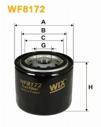 WIX Фільтр паливний WF 8172