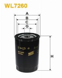 WIX Фільтр масляний WL 7260