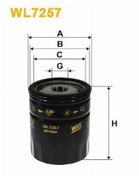 WIX Фільтр масляний WL 7257