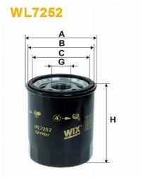 WIX Фільтр масляний WL 7252