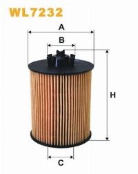 WIX Фільтр масляний WL 7232