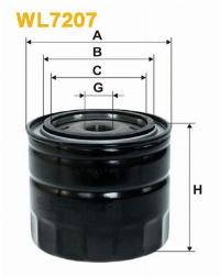 WIX Фільтр масляний WL 7207