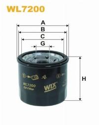 WIX Фільтр масляний WL 7200