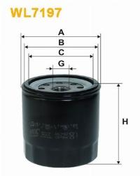 WIX Фільтр масляний WL 7197