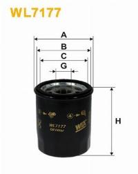 WIX Фільтр масляний WL 7177