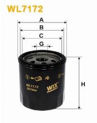 WIX Фільтр масляний WL 7172