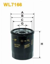 WIX Фільтр масляний WL 7166