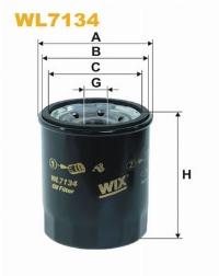 WIX Фільтр масляний WL 7134