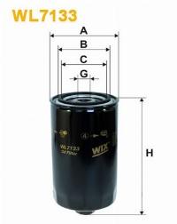 WIX Фільтр масляний WL 7133