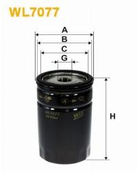 WIX Фільтр масляний WL 7077