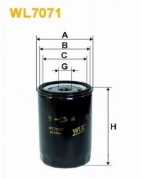 WIX Фільтр масляний WL 7071