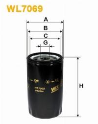 WIX Фільтр масляний WL  7169