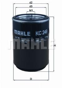 KNECHT Фільтр паливний KC 249D