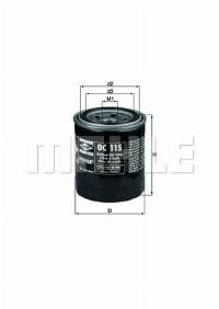 KNECHT Фільтр масляний  OC 115