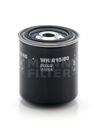 MANN Фільтр паливний WK 815/80