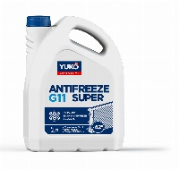 YUKO Antifreeze -40 Super G11синій 5 кг каністра 5кг