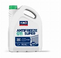 YUKO Antifreeze -40 Super G11зелений  5 кг каністра 5кг