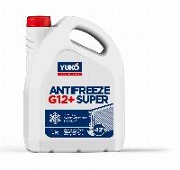 YUKO Antifreeze -40 Super G12+ червоний 5 кг каністра 5кг