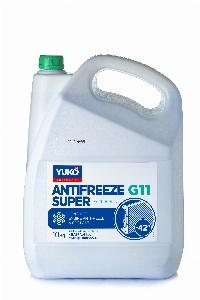 YUKO Antifreeze -40 Super G11зелений  10кг каністра 10кг
