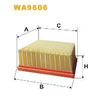 WIX Фільтр повітряний WA 9606