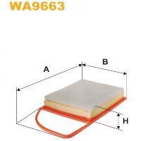 WIX Фільтр повітряний WA 9663