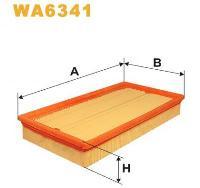 WIX Фільтр повітряний WA 6341