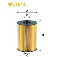 WIX Фільтр масляний WL 7514