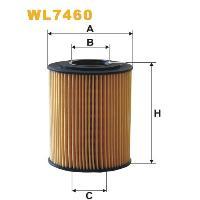 WIX Фільтр масляний WL 7460