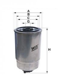 WIX Фільтр паливний 95045E