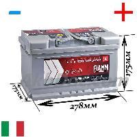 FIAMM TITANIUM PRO 6СТ-75Аз 730 А ( L3B 75P)